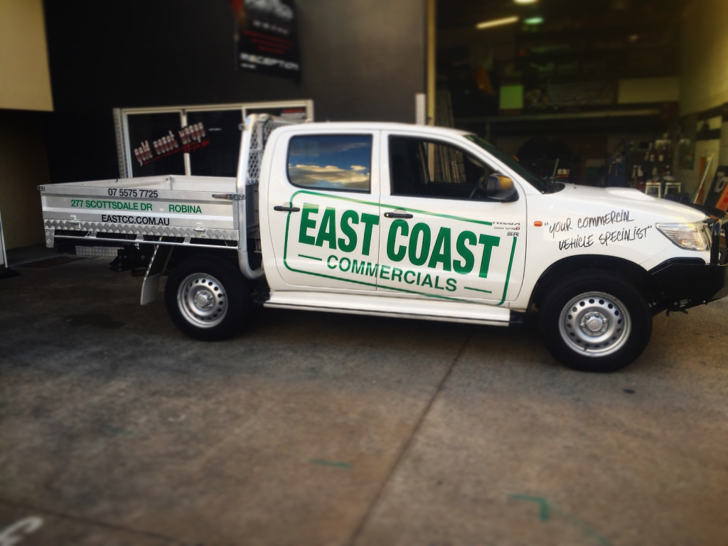 EAST COAST COMMERCIALS SIGNAGE
