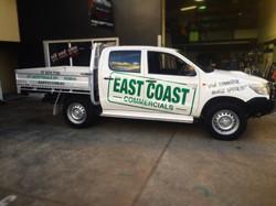 EAST COAST COMMERCIALS SIGNAGE