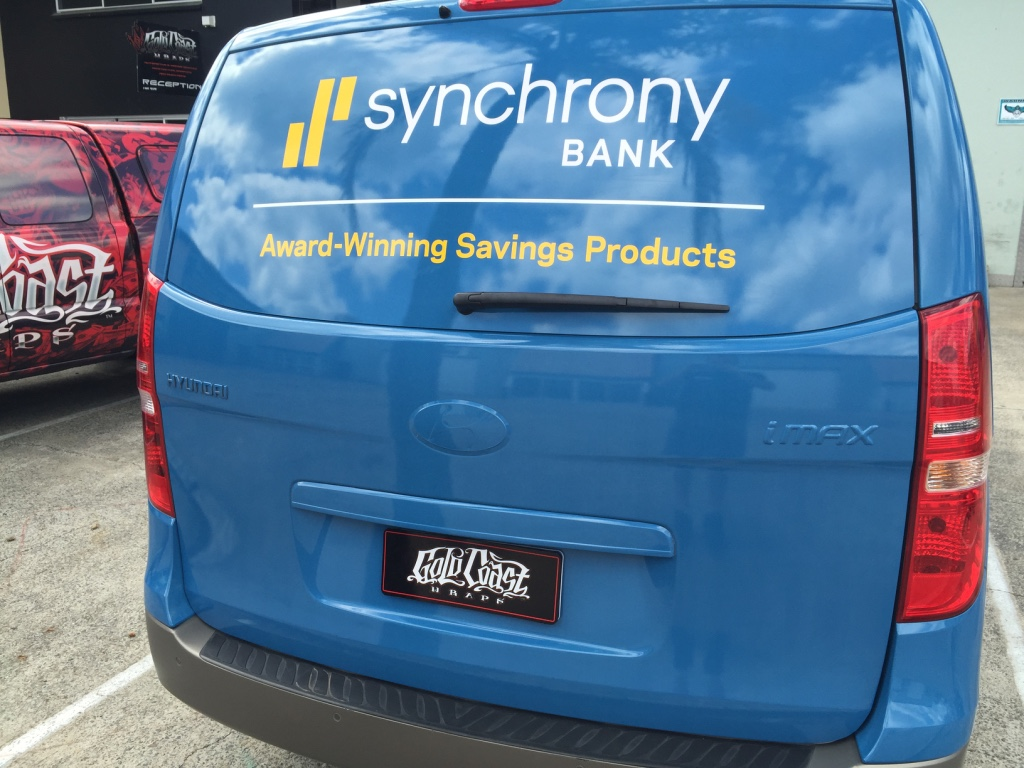 SYNCHRONY BANK FULL WRAP