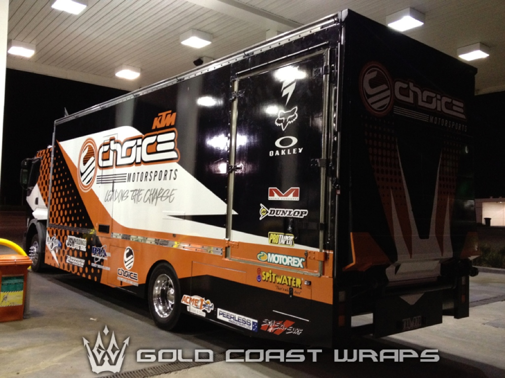 CHOICE TRUCK TRAILER FULL WRAP