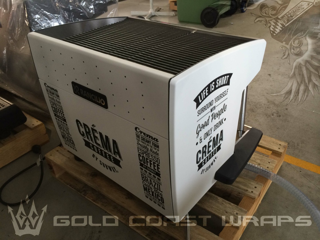 COFFEE MACHINE FULL WRAP