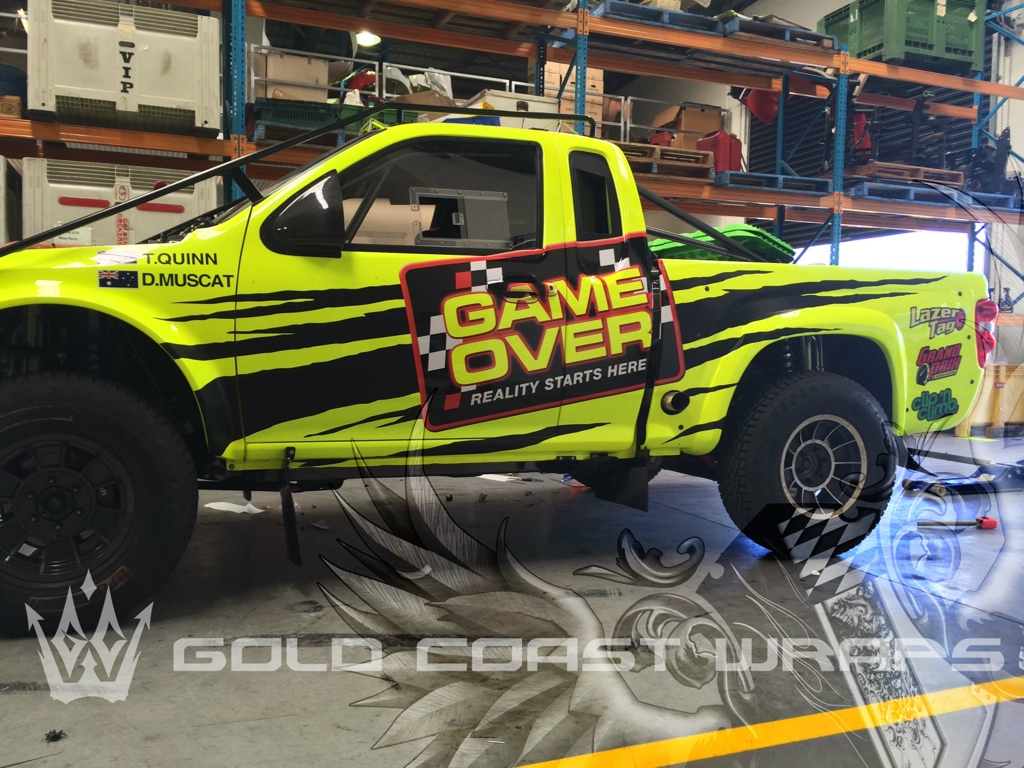 GAME OVER FULL WRAP