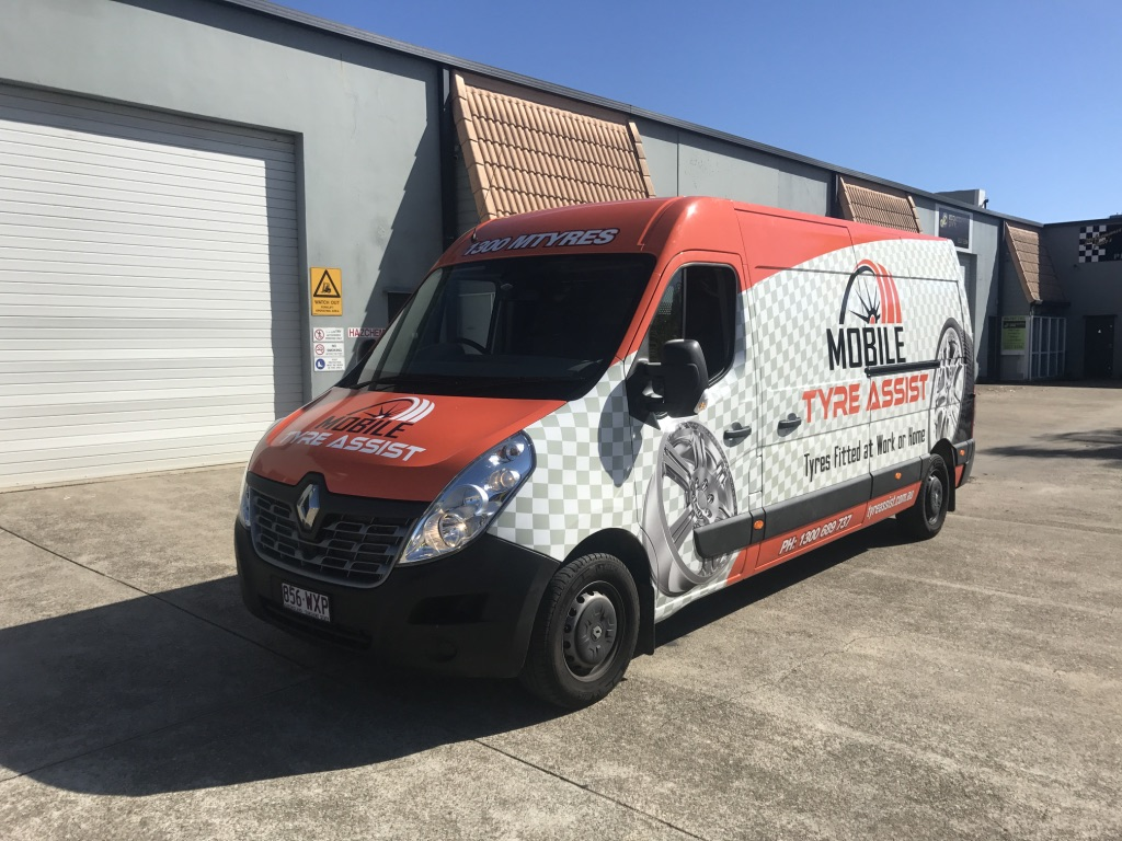 MOBILE TYRE ASSIST FULL WRAP