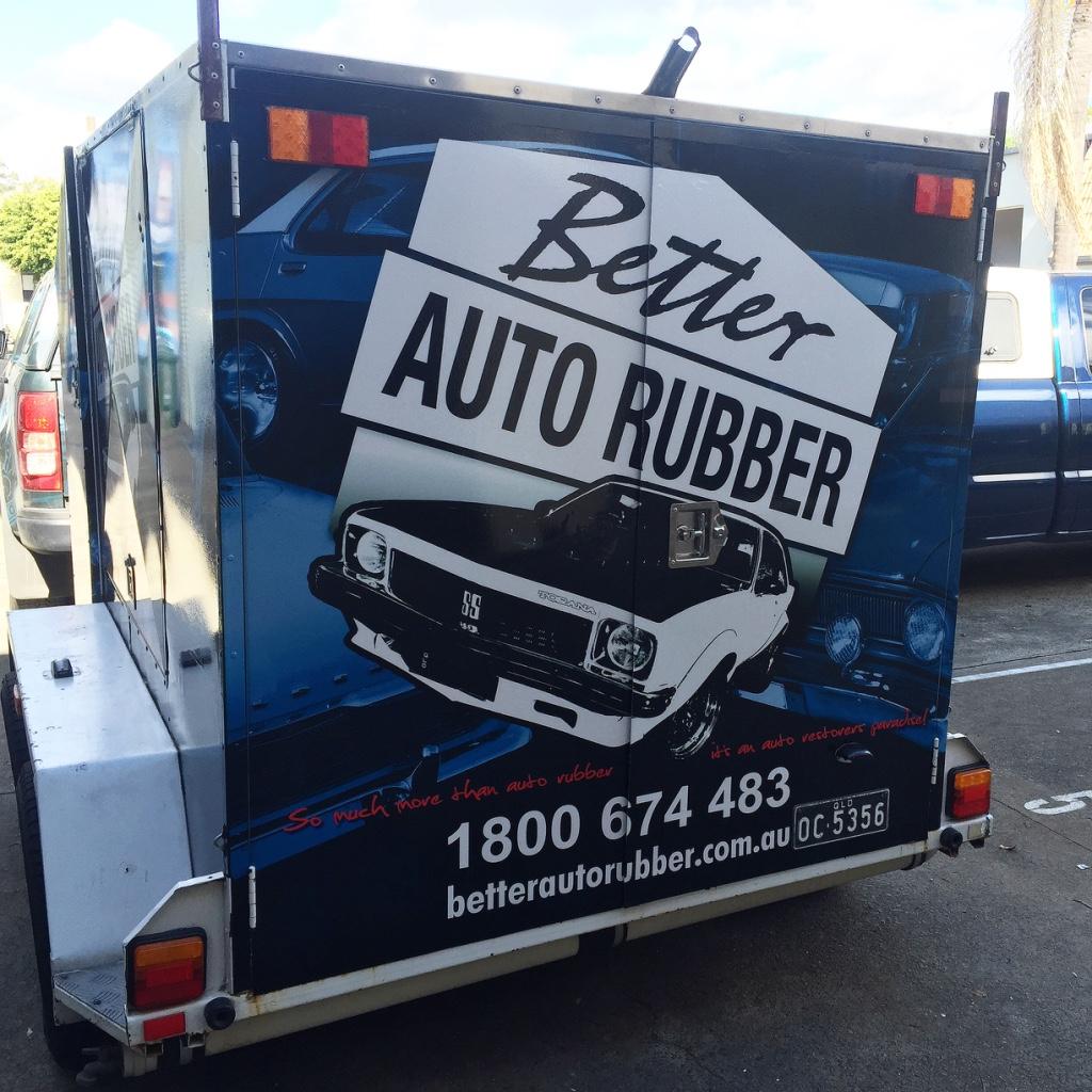 BUSINESS TRAILER FULL WRAP