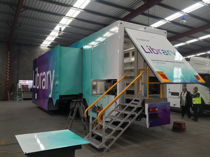 Mobile Library Trailer