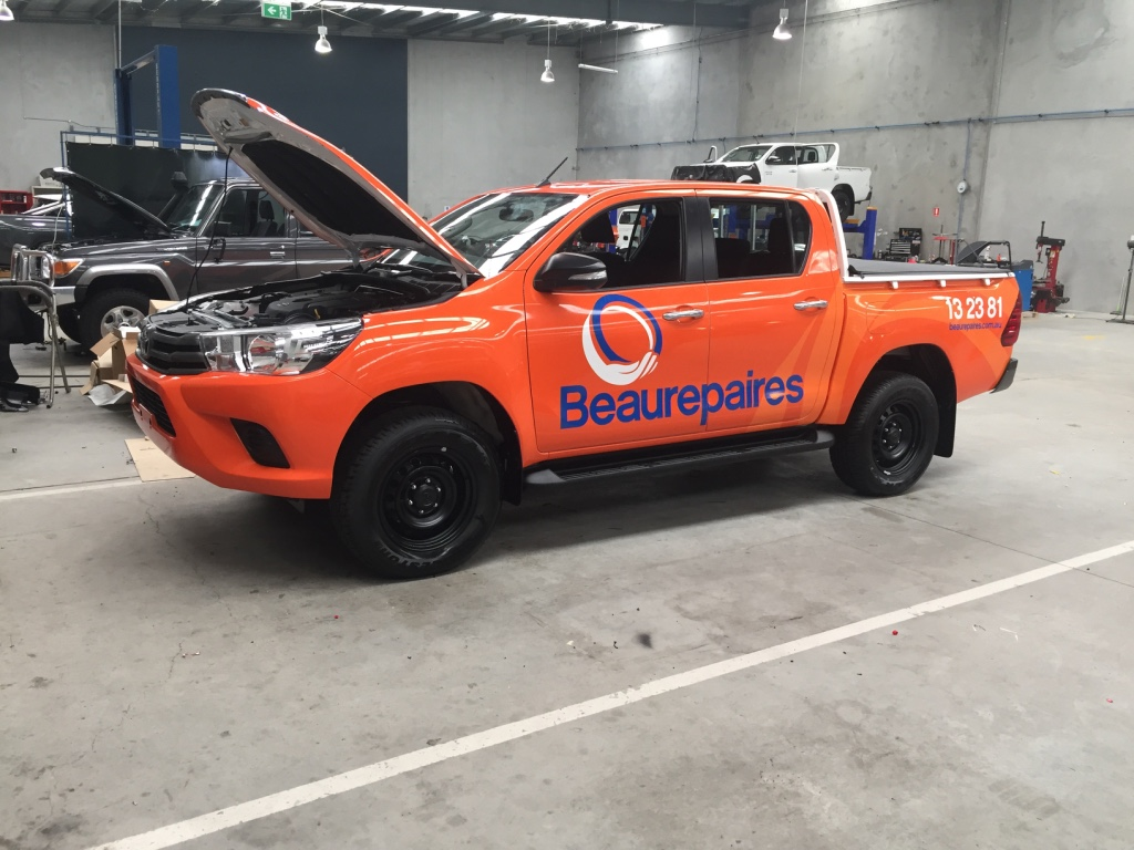 BEAUREPAIRS FULL WRAP