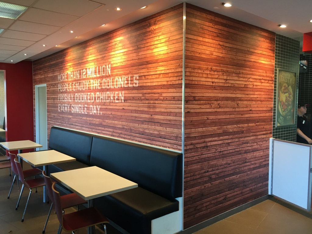 CUSTOM TIMBER WALL WRAP