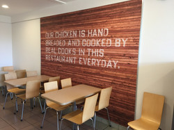 KCF RESTAURANT WALL WRAP