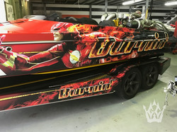 RACE TEAM BOAT WRAP