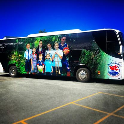 Hillcrest Student Bus