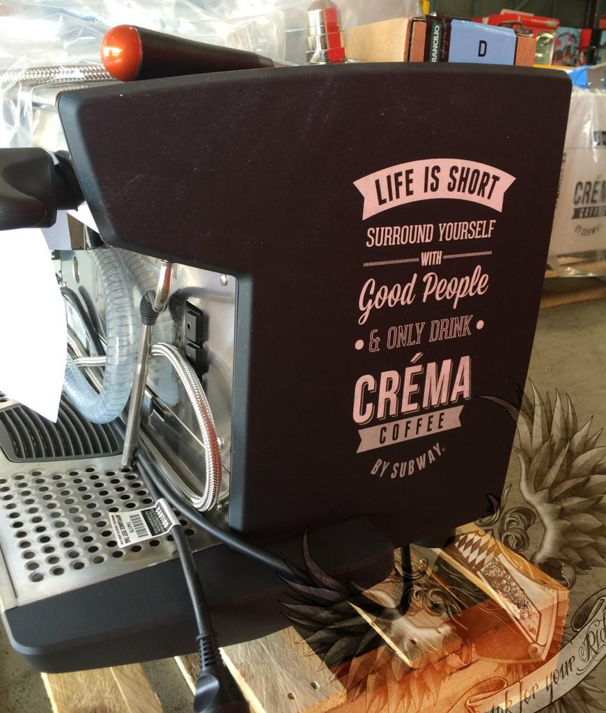 COFFEE MACHINE PANEL WRAP