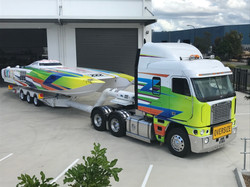 SUPER BOAT AND TRANSPORT WRAP