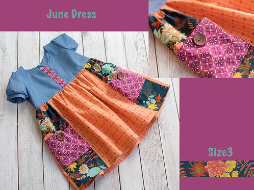 June Dress Size 3