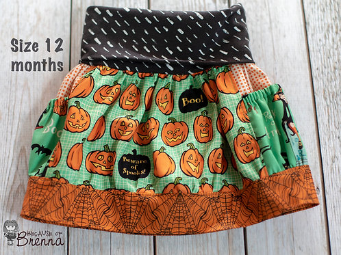 Witch Hazel in Green Skirt Size 12-18 months