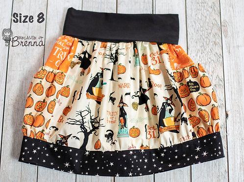 Witch Hazel in Cream Skirt