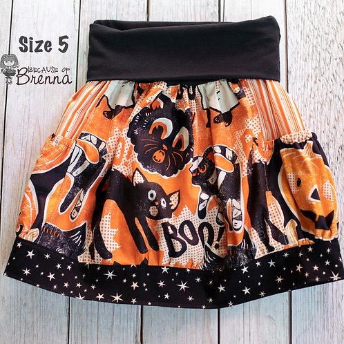 Scaredy Cat Skirt