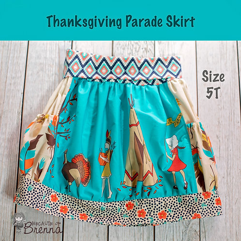 Thanksgiving Parade Size 5T