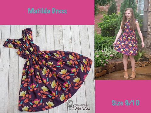 Matilda Dress Size 9/10
