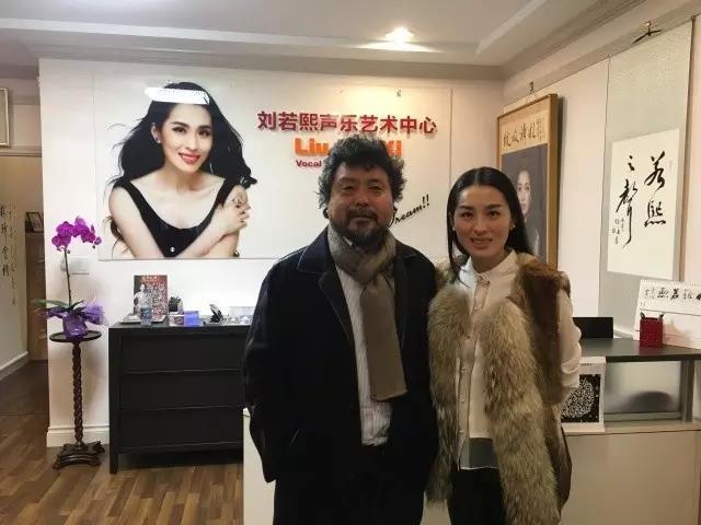 著名男高音歌唱家魏松老师莅临刘若熙声乐艺术中心指导