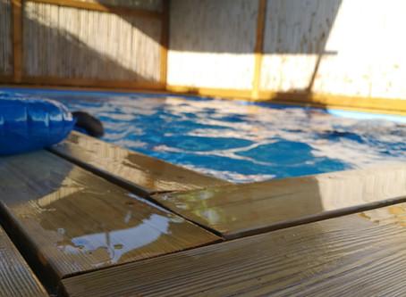 חופשה בארץ עם משפחות חברים ובריכה פרטית