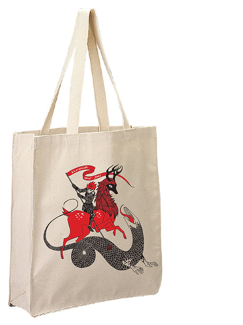 Canvas tote bag: Vanquish Your Foes