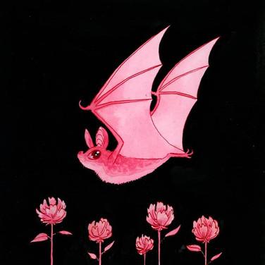 Bat 2 (pink)