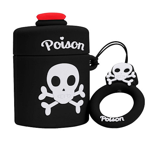 Black Poison AirPods Case