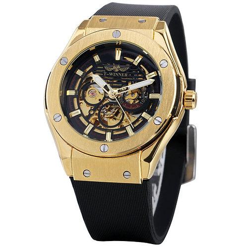 Men's Luxury Automatic Series 3D Bolt Skeleton Watch