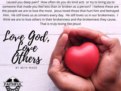 Love God, Love People (By Beth Wade)