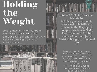 Holding the Weight