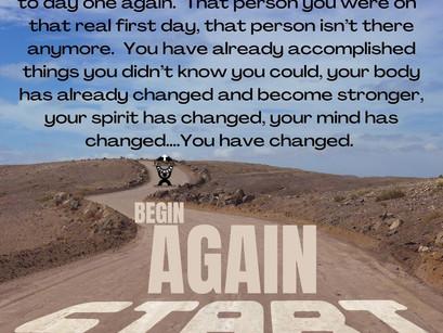 Beginning Again (By Beth Wade)