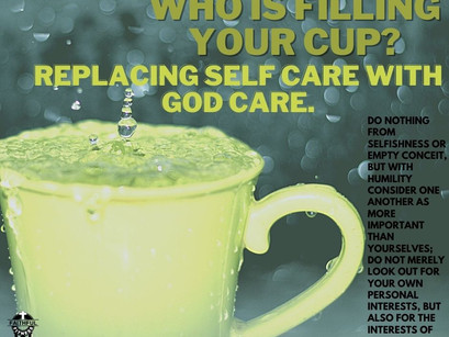 Who is filling your cup?