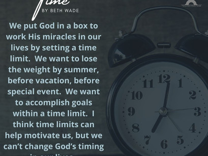 Time by Beth Wade