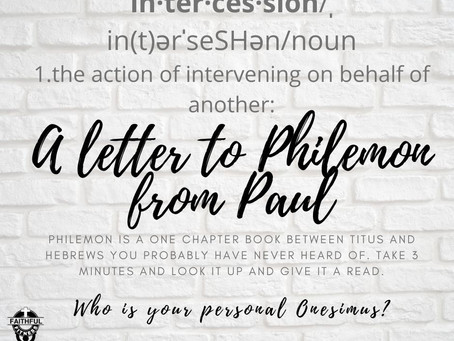 Intercession (Philemon)