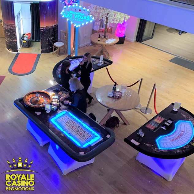 VIP LED Casino tables