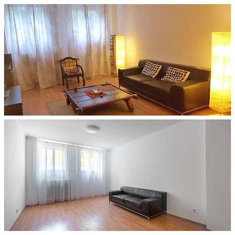 Homestaging apartment prague 1