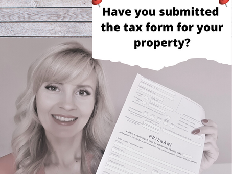 Don't foget about tax declaration for your new property! Due date is 31 January.