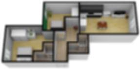 План квартиры 3D