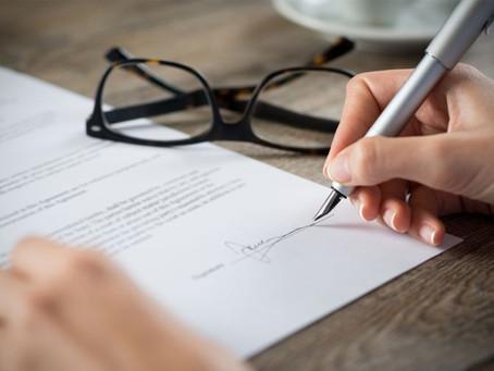 5 věcí, které musí obsahovat kupní smlouva