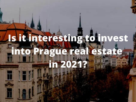 Is it interesting to invest into Prague real estate in 2021?