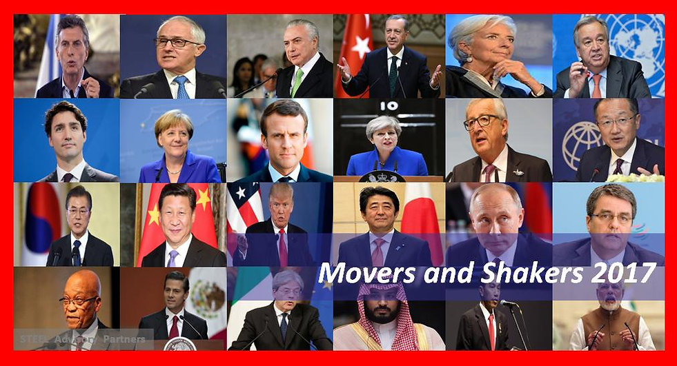 Steel Advisory Partners - 2017 World Review Series, Movers and Shakers