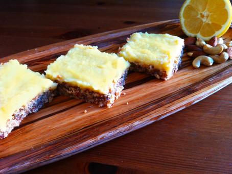 Lemon Bars for Breakfast!