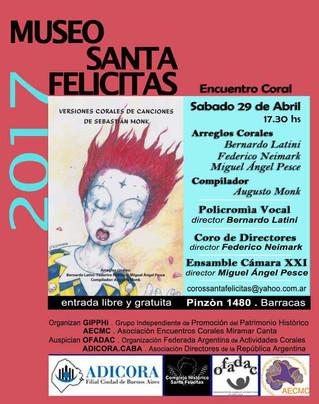 Concierto en Museo Santa Felicitas