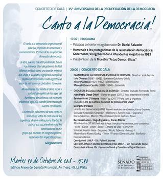 Misa Mestiza. Dos conciertos en La Plata