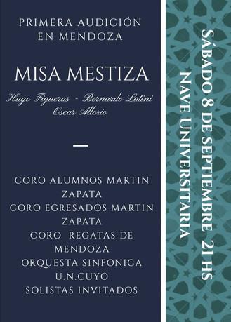 Misa Mestiza - 1ª Audición en Mendoza