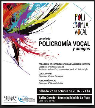 Policromía Vocal y amigos