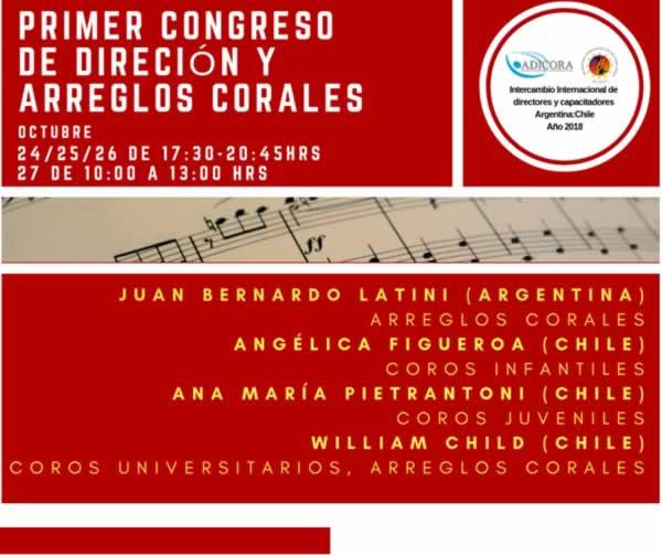 Alacc Chile. Congreso Coral