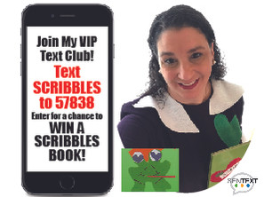 Enter for a Chance to Win Scribbles!
