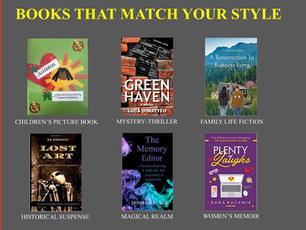 Check out local authors! 🐸❤️🌞