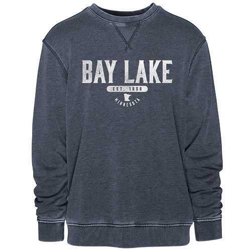 Men's Bay Lake Vintage Crew